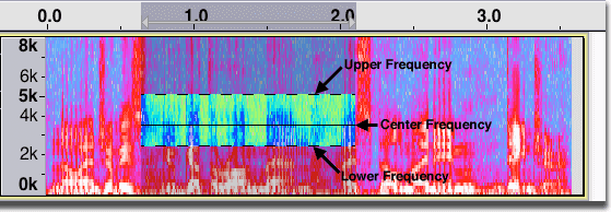 Spectral Selection - Audacity Manual