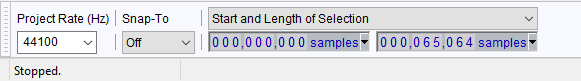 Selection Toolbar - samples and length.png
