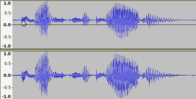 Amplify and Normalize - Audacity Manual