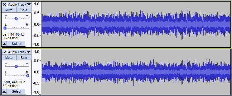 how to cut parts of a track in audacity