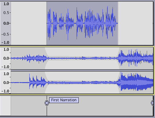 Tutorial - Mixing a Narration With Background Music
